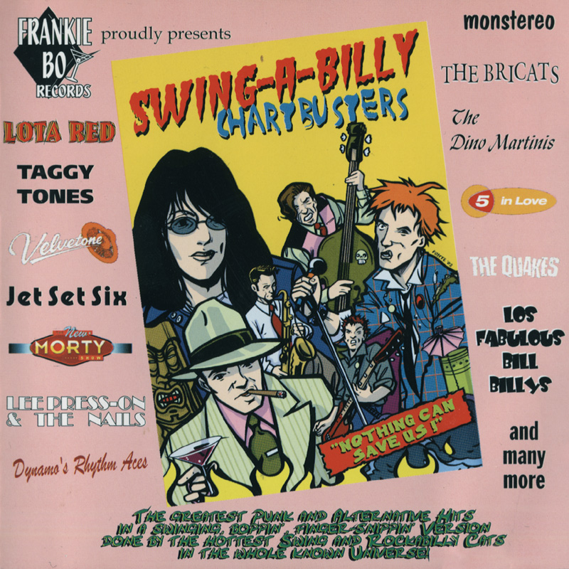 Swing-A-Billy Chartbusters - CD/LP - 2003