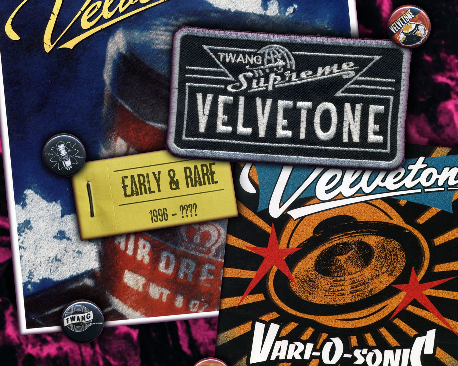 VELVETONE - Early & Rare - Stumble - 2012