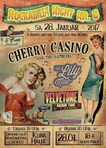 28. Januar 2017 Wolfenbüttel Rockabilly Night No. 8 Rockin' Faxe w/Velvetone