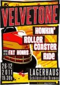 ©2011 Velvetone DE-Bremen - Kulturzentrum Lagerhaus - Honkin' Rollercoaster Ride w/The Fat Honks
