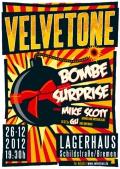 ©2012 Velvetone DE-Bremen - Kulturzentrum Lagerhaus - Bombe Surprise w/Mike Scott